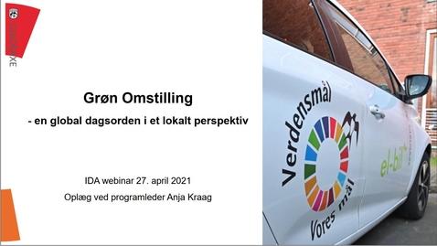 Thumbnail for entry Grøn omstilling - en global dagsorden i et lokalt perspektiv
