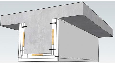 Thumbnail for entry Brandbeskyttelse af kulfiberarmerede betonelementer