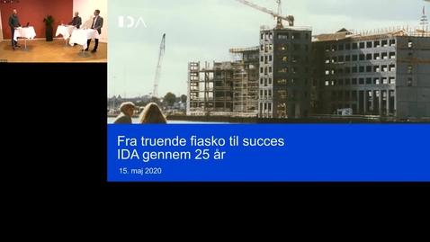 Thumbnail for entry Fra truende fiasko til succes: IDA gennem 25 år