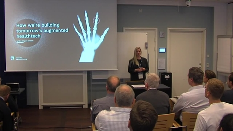 Thumbnail for entry Startup: Radiobotics: Radiobotics, building tomorrow's augmented healthcare technology by Stine Mølgaard Sørensen