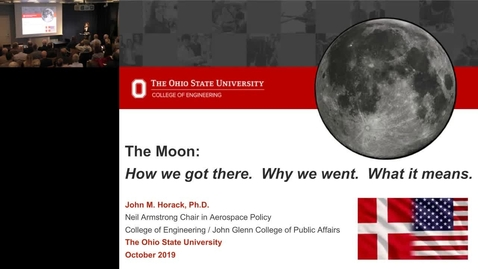 Thumbnail for entry The Moon: How we got there, why we went, and what it means