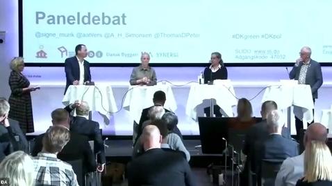 Thumbnail for entry Vejen mod 2030 – Et Danmark uden energispild - Debat Organisationernes klimaplaner