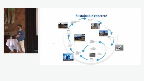 Thumbnail for entry Genanvendelse af beton i Holland v/ Erik Vogelzang, Theo Pouw