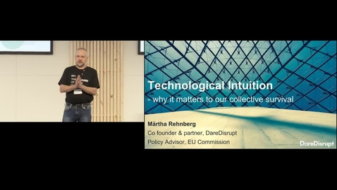 Thumbnail for entry Märtha Rehnberg: Technological Intuition - unlock the promise of new technology