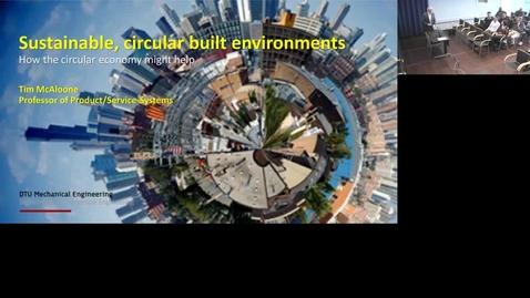 Thumbnail for entry Bæredygtige byggematerialer og cirkulær økonomi