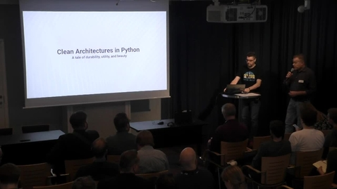 Thumbnail for entry Tools: Clean Architectures in Python - A tale of durability, utility and beauty by Leonardo Giordani