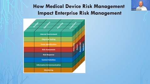 Thumbnail for entry 7th Risk Management Conf -  How Medical Device Risk management Impacts ERM