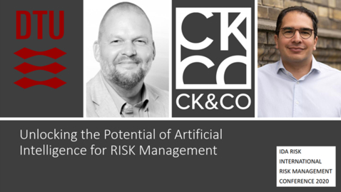 Thumbnail for entry 7th Risk Management Conf -  Unlocking the Potential of Artificial Intelligence for RISK Management