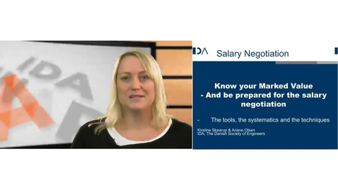 Thumbnail for entry Salary Negotiation in the Danish Labour Market