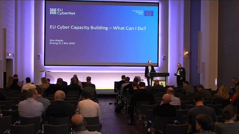 Thumbnail for entry Privacy: EU Cyber capacity building - what can I do by Siim Alatalus