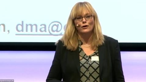 Thumbnail for entry SUSTAINABLE CONCRETE - Introduktion v. Dorthe Mathiesen, branchedirektør, Dansk Byggeri
