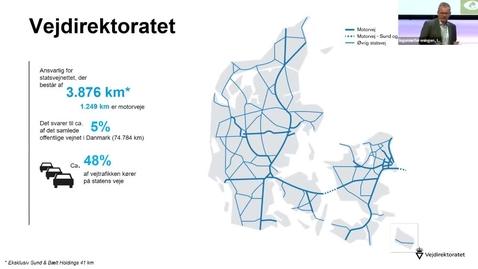 Thumbnail for entry SUSTAINABLE CONCRETE - Hvad er på vej inden for anlægssektoren v. Jens Holmboe, direktør, Vejdirektoratet