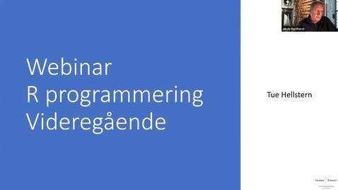 Thumbnail for entry R programmering - Videregående