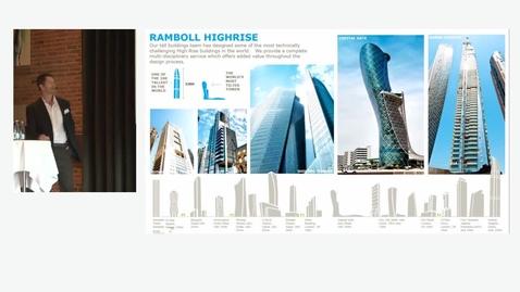 Thumbnail for entry Højhusbyggeri - in-situ eller elementer v/ Shonn Mills, Rambøll