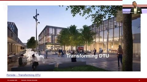 Thumbnail for entry SUSTAINABLE CONCRETE - Transforming DTU v. Jacob Steen Møller, Campusdirektør, DTU