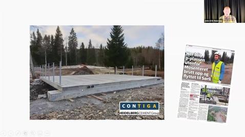 Thumbnail for entry SUSTAINABLE CONCRETE - Norske erfaringer med bæredygtighed og beton v. John-Erik Reisersen, Leder, Betongelementforeningen