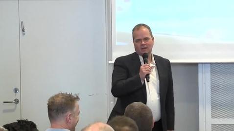 Thumbnail for entry Industri 4.0 i praksis, Henrik Ruff, Siemens