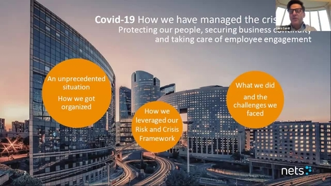 Thumbnail for entry 7th Risk Management Conf -  Crisis and business continuity management in times of Covid-19