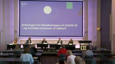 Thumbnail for entry Erfaringer fra håndteringen af COVID-19 - og hvordan kommer vi videre