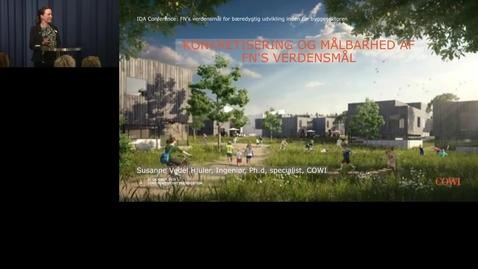 Thumbnail for entry FN's verdensmål for bæredygtig udvikling inden for byggesektoren