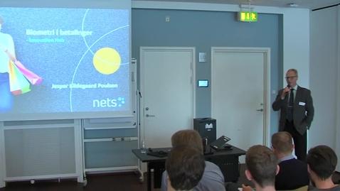 Thumbnail for entry Cool: Nets: Biometri i betalinger ved Jesper Kildegaard Poulsen