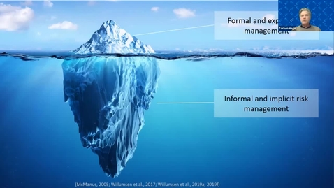 Thumbnail for entry 7th Risk Management Conf -  Implementing risk management in daily operations