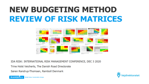 Thumbnail for entry 7th Risk Management Conf -  New Budgeting method revision of Risk Matrices