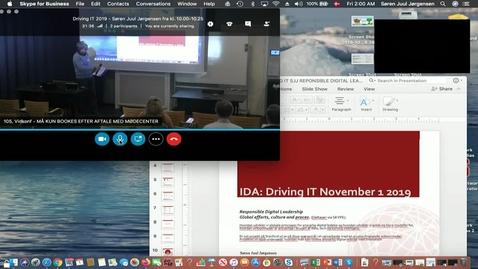 Thumbnail for entry Dataetik: Responsible digital management. Global efforts, culture and proces ved Søren Juul Jørgensen