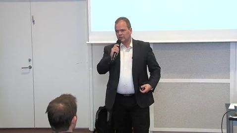 Thumbnail for entry Hvad er mulighederne med digitale tvillinger, Peter Gorm Larsen, Aarhus Universitet