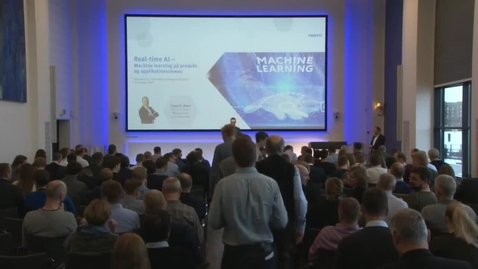 Thumbnail for entry Real time AI, Claus Holm, Festo