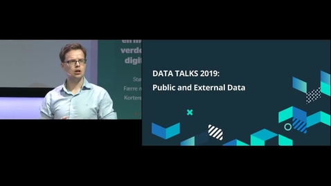 Thumbnail for entry Data Talks - Publicly and externally available data