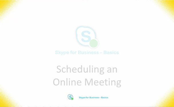 Online Meetings for Presenters | Information Technology