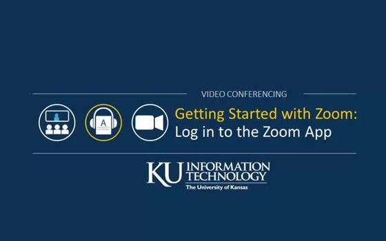 How to Sign in to the Zoom App | Information Technology