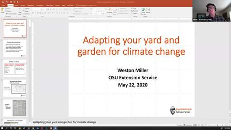 Thumbnail for entry Adapting Your Yard for Climate Change
