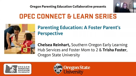 Thumbnail for entry Parenting Education: A Foster Parent's Perspective