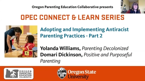 Thumbnail for entry Adopting and Implementing Antiracist Parenting Practices - Part 2