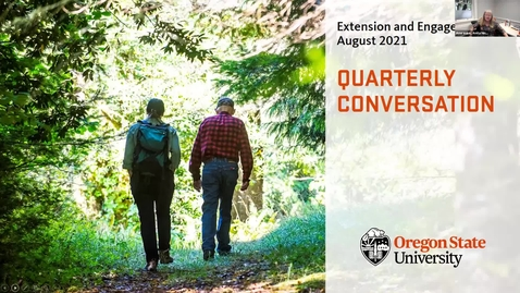 Thumbnail for entry Extension and Engagement Quarterly Conversation
