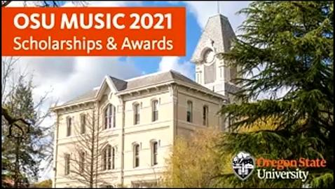 Thumbnail for entry Oregon State University Music Scholarship and Awards Celebration 2021