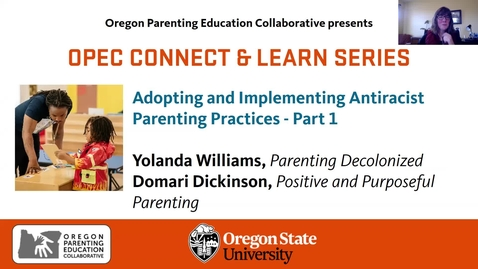 Thumbnail for entry Adopting and Implementing Antiracist Parenting Practices - Part 1
