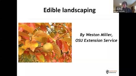Thumbnail for entry Edible Landscaping Webinar
