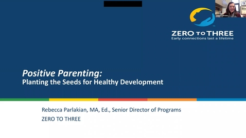 Thumbnail for entry OPEC Webinar: Positive Parenting: An Evidence-Based Approach to Child-Rearing