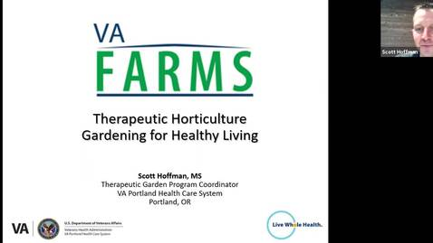 Thumbnail for entry Therapeutic Horticulture, Gardening for Healthy Living