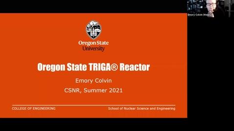 Thumbnail for entry TRIGA Reactors + Transient Physics