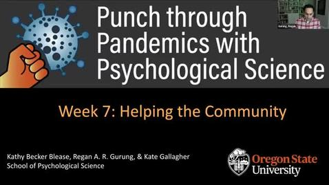 Thumbnail for entry ST/PUNCH THRU PANDEMIC PSY SCI (PSY_499_C007_S2020)