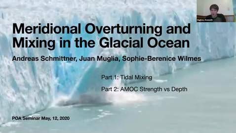 Thumbnail for entry Andreas Schmittner - POA Seminar