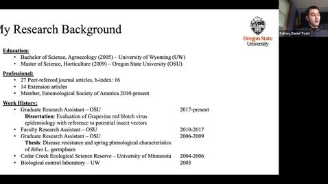 Thumbnail for entry DT Dalton Dissertation Defense