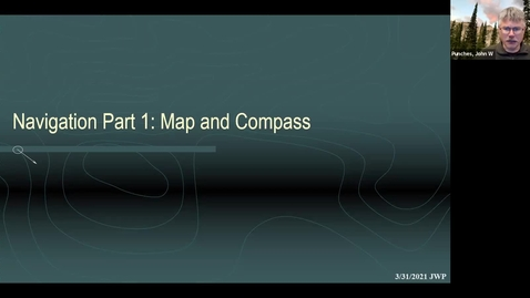 Thumbnail for entry DC SAR Academy: Navigation Part 1: Map and Compass