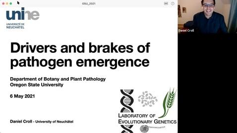 Thumbnail for entry BPP Spring Seminar Series: Dr. Daniel Croll