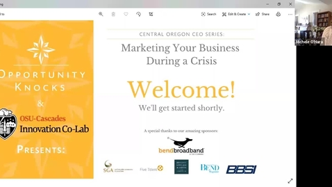 Thumbnail for entry Marketing Your Business During a Crisis