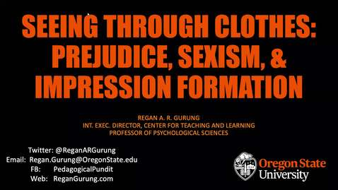 Thumbnail for entry Seeing Through Clothes_Gurung WPA 2020 Distinguished Speaker Talk